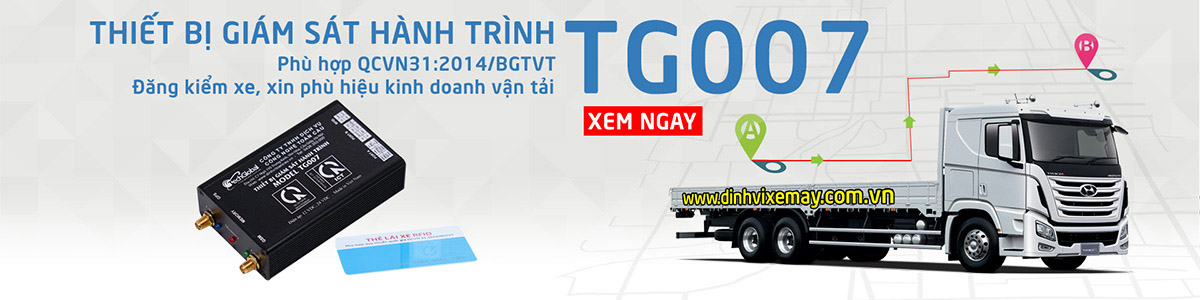 Thiết bị giám sát hành trình TG007