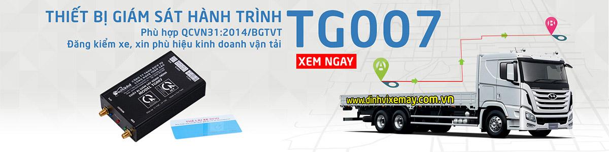 Thiết bị giám sát hành trình TG007