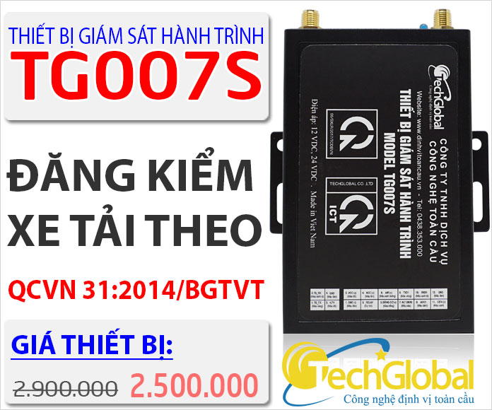 Thiết bị giám sát hành trình TG007s