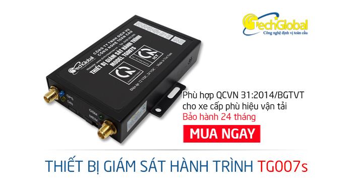 Điểm nổi bật của thiết bị giám sát hành trình TG007S và TG007