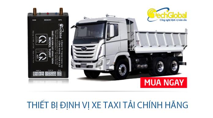 Lắp thiết bị định vị xe taxi tải chính hãng ở đâu?