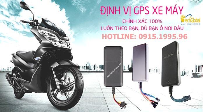 Techglobal- Địa chỉ bán định vị xe máy ở Hà Nội uy tín