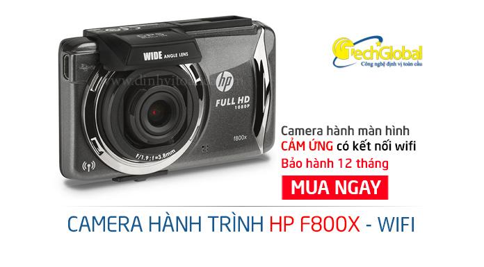 Camera hành trình HP F800X