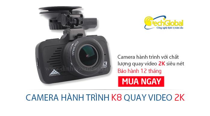 Camera hành trình K8 quay video 2K
