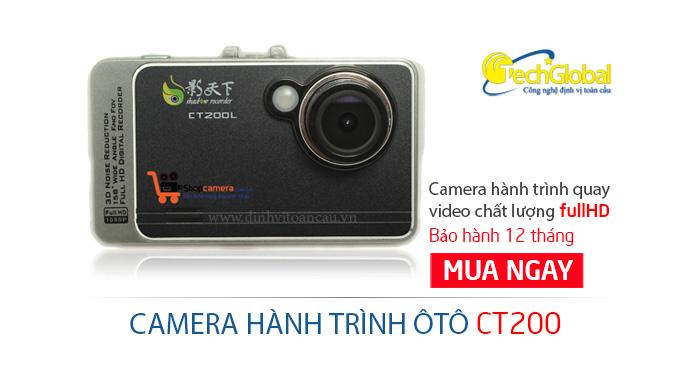 Camera hành trình ôtô CT200