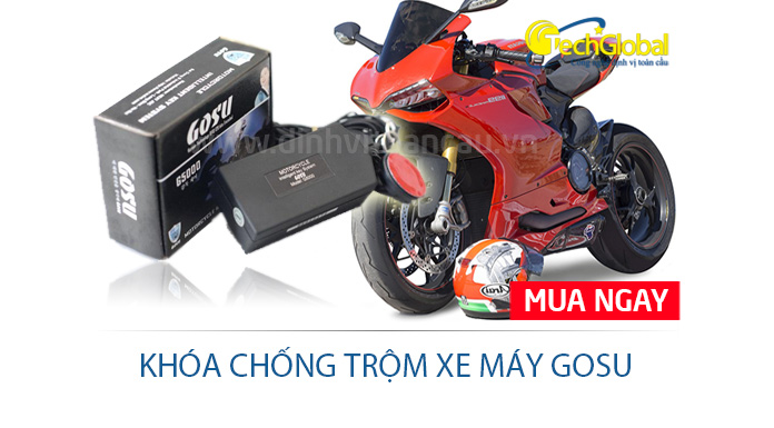 Khóa chống trộm xe máy cao cấp Gosu G5000