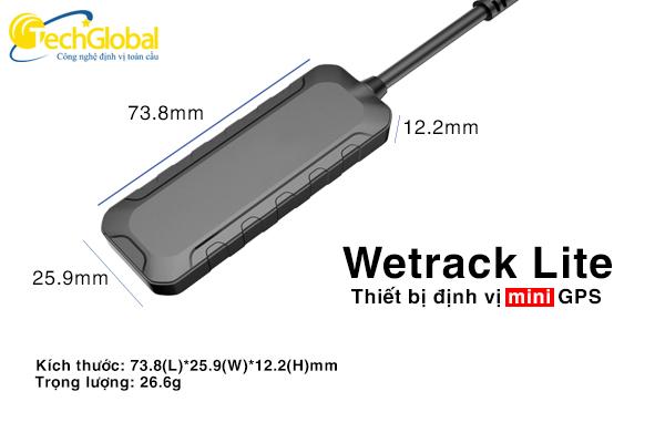 Thiết bị định vị xe máy Wetrack Lite Mini