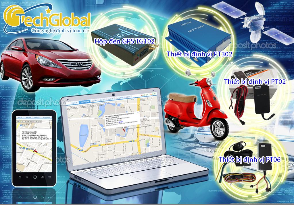 Mua thiết bị định vị gps ô tô, xe máy chính hãng ở đâu?