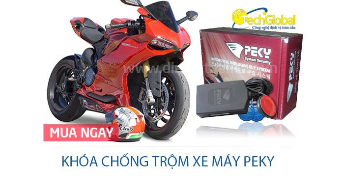 Khóa chống trộm xe máy Peky