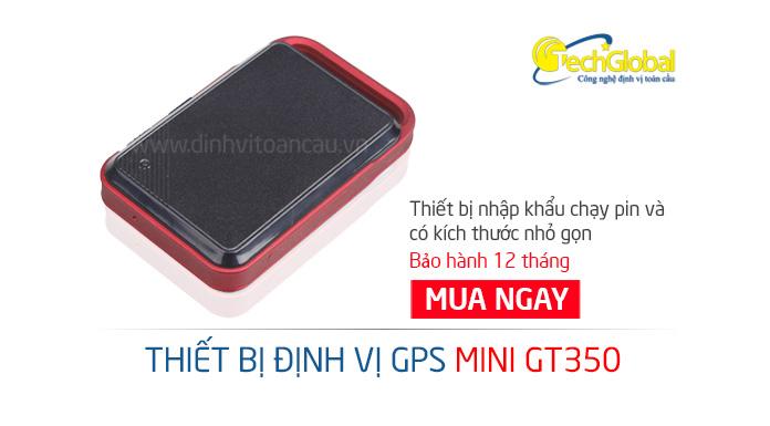 Thiết bị định vị cầm tay mini GT350 pin dài ngày